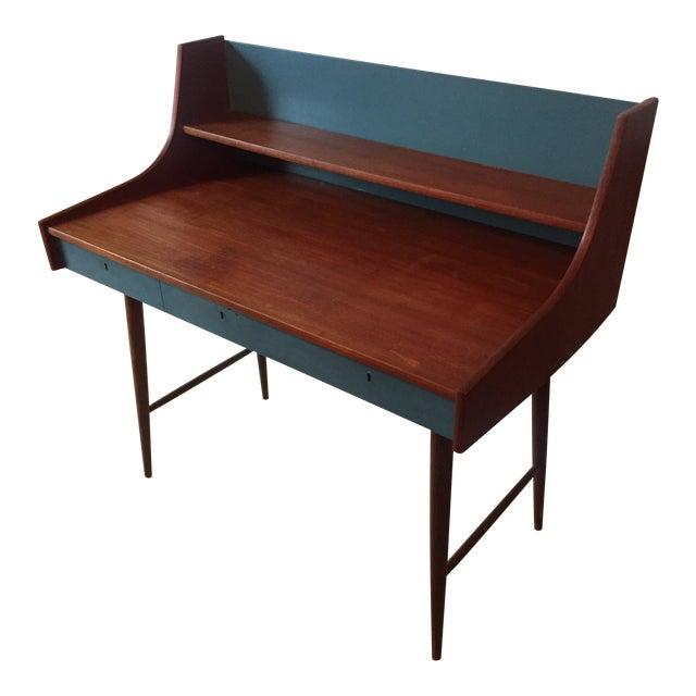 Image of Mid-Century Danish Writing Desk