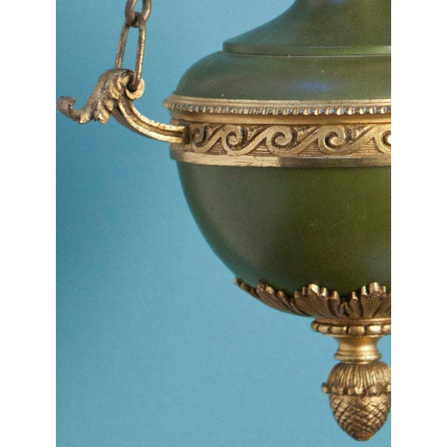 Antique Empire-Style Lantern from France, circa 1910 - Image 4 of 6