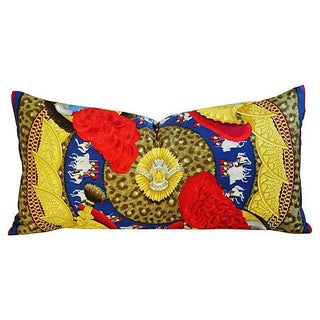 Custom Large Hermes Julia Abadie Silk Pillow