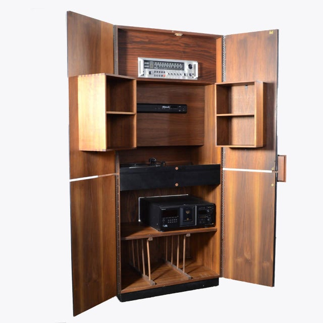 Richard Thompson Stereo Cabinet or Bar by Glenn of California - Image 11 of 11