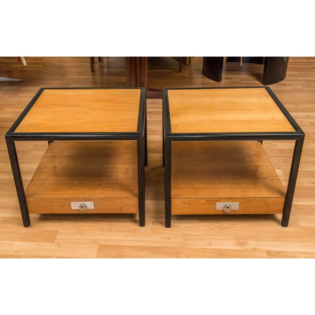 New World End Tables by Michael Taylor for Baker - Image 7 of 8