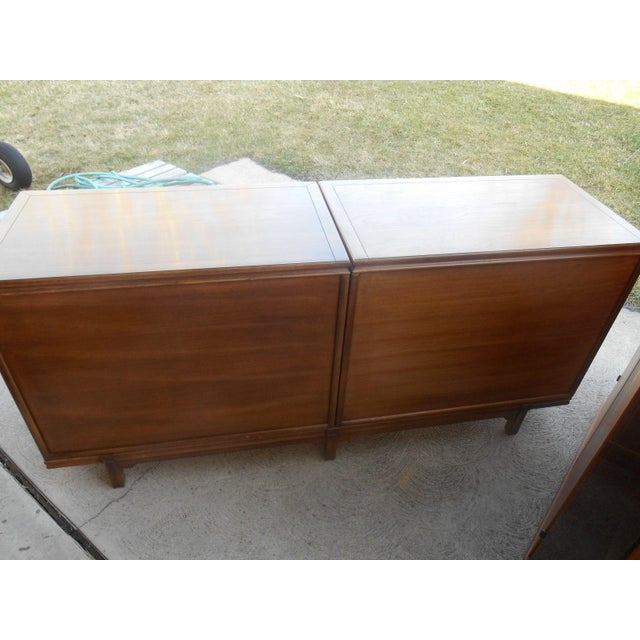 MCM Thomasville Floating Dual Credenza - Image 6 of 6