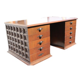 Mid-Century Designer Executive Desk