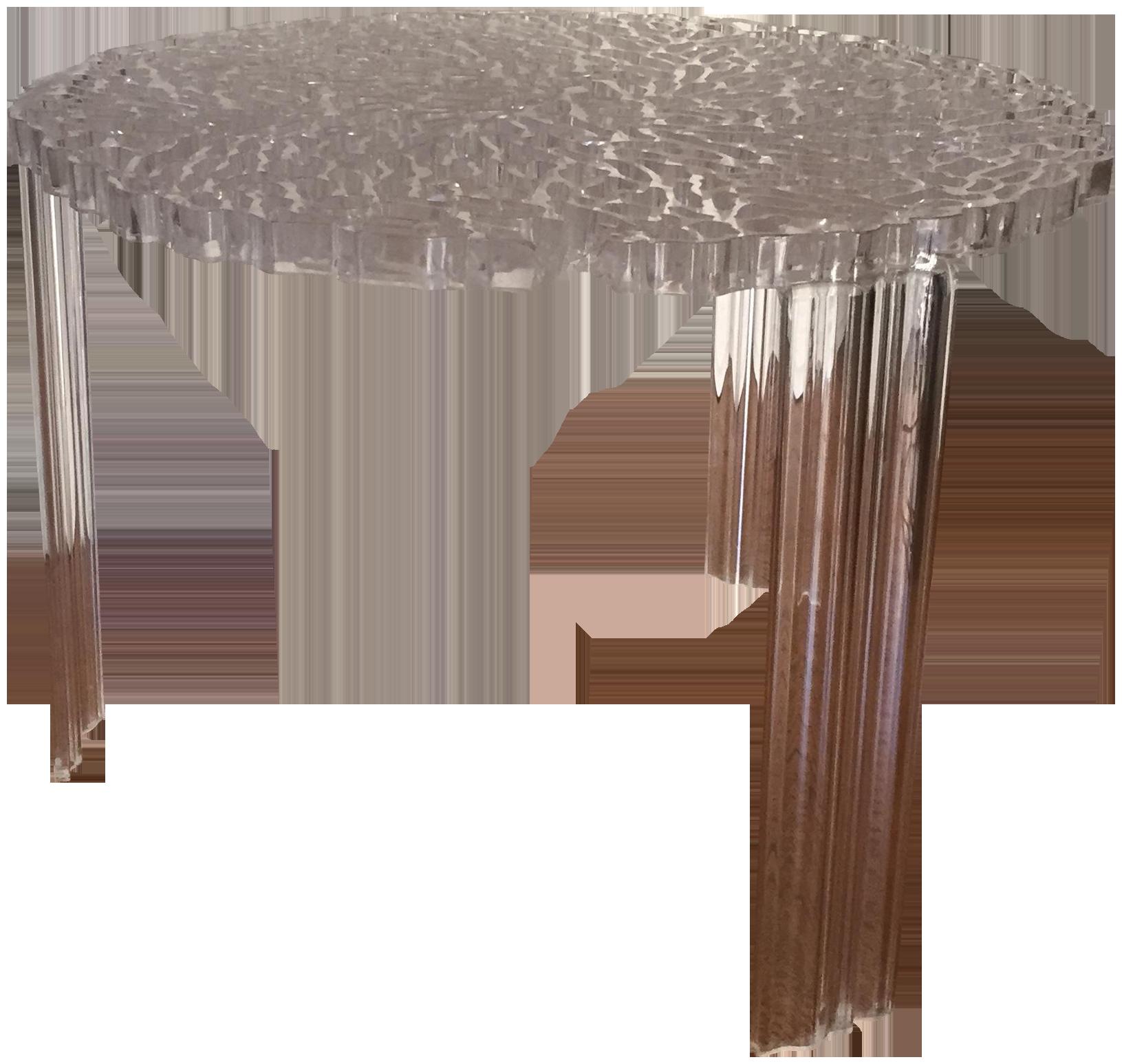Kartell Patricia Urquiola TTable Side Table  Chairish -> T Table Kartell