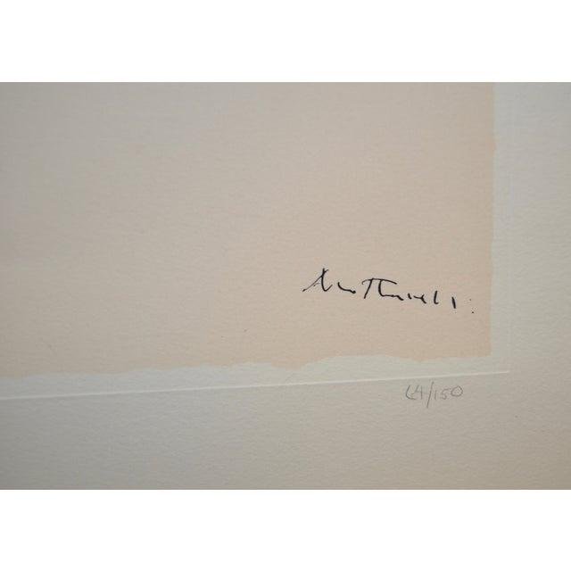 "Robert Motherwell ""Africa No.9"" Silkscreen C.1970 - Image 4 of 8"