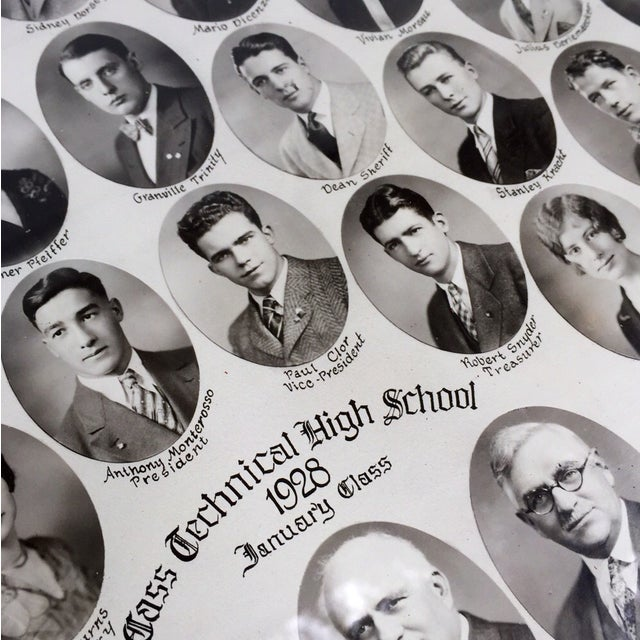1928 Class Technical High School Portrait - Image 3 of 4