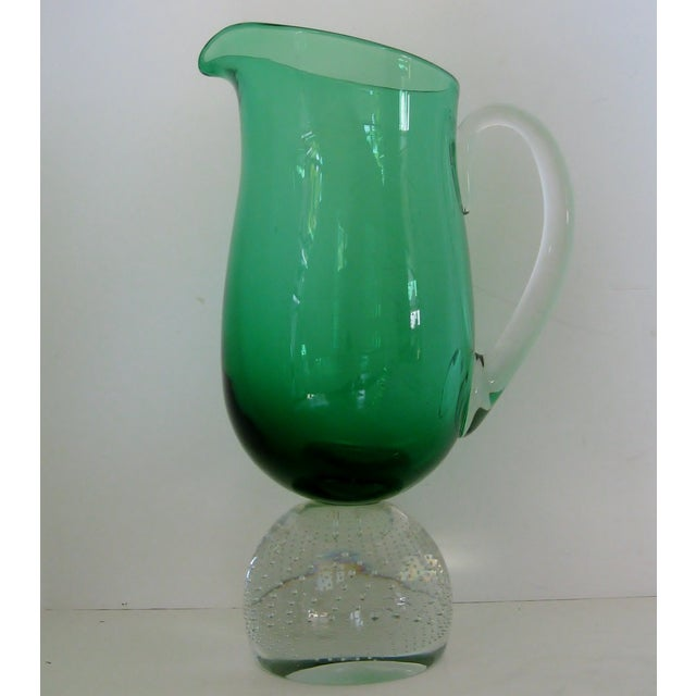 Image of Carl Erickson Green Glass Collection - Set of 16