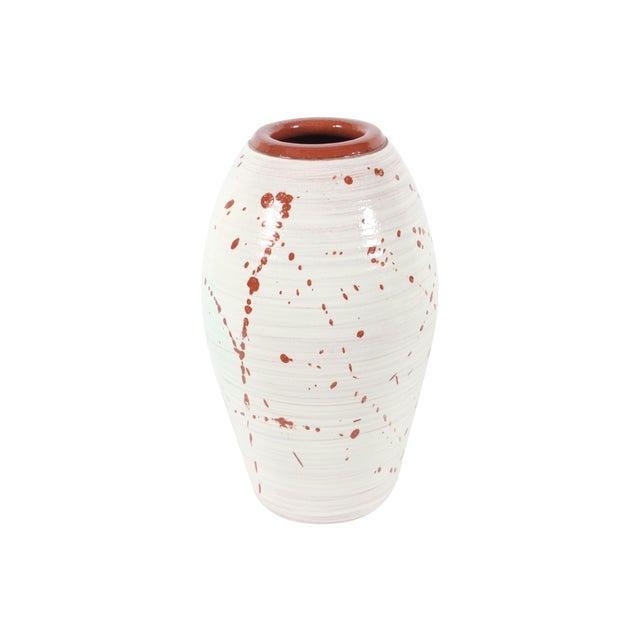 Image of Handmade Mid-Century Modern Ceramic Vase