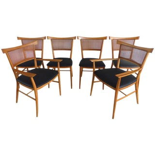 """Paul McCobb Perimeter Group """"Bow Tie"""" Dining Chairs - Set of 6"""