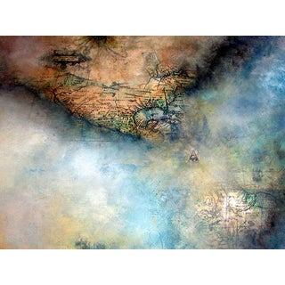 Abstract Map by Evelyn Valdivia