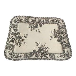 Antique Transferware Platter