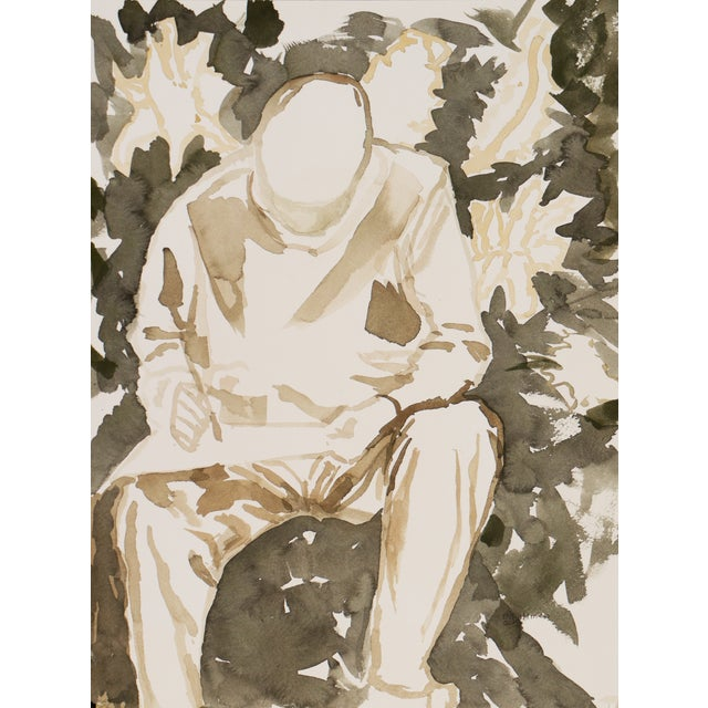 B.A. Altman Figural Watercolor Painting - Image 1 of 5