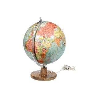 Raths Mid-Century Swedish Light Up Glass Globe