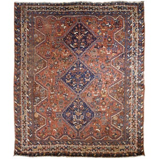 "Persian Shiraz Rug 5'10"" x 6'9"""