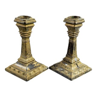Regency Style Candlesticks - A Pair