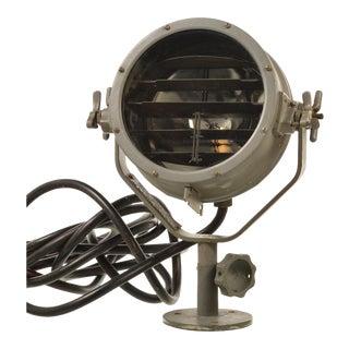 Vintage Naval Signal Light and Spot Light