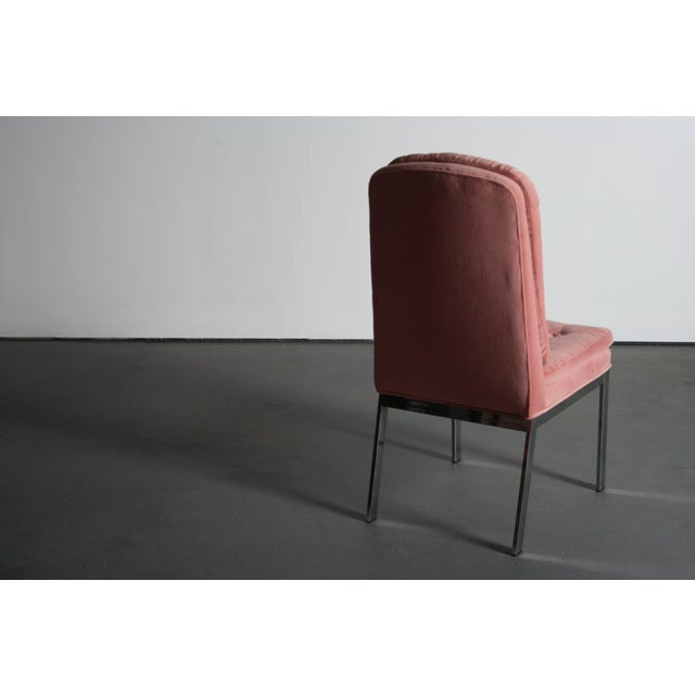 Milo Baughman for DIA Blush Dining Chairs - S/6 - Image 12 of 12