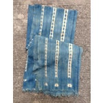 Image of Vintage Handmade African Indigo Mudcloth