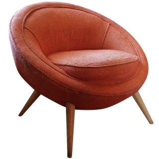 Jean Royere-Style Egg Chair