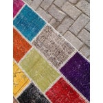 "Image of Multicolor Turkish Runner Rug, 2' 7"" x 9' 2"""