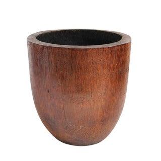 Coconut Wood Pot