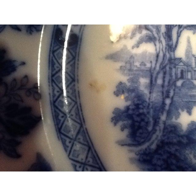 Doulton Madras Flow Blue Dinner Plates - Set of 5 - Image 4 of 5