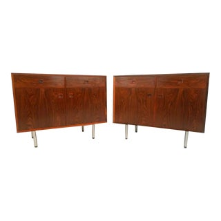 Danish Modern Rosewood Cabinets - a Pair