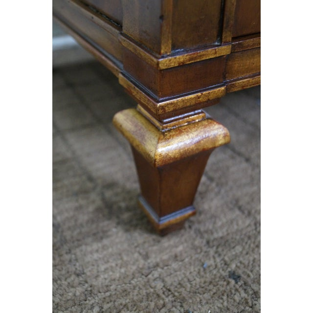John Widdicomb Painted French Style Nightstand - 2 - Image 6 of 8