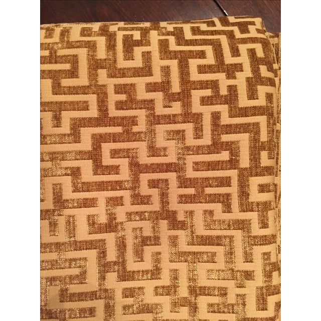 Rowland Jacquard Fabric in Flax - 9 1/2 Yards - Image 5 of 6