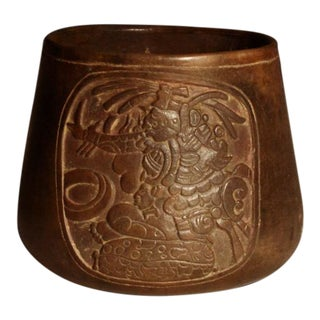 Mayan Terracotta Bowl