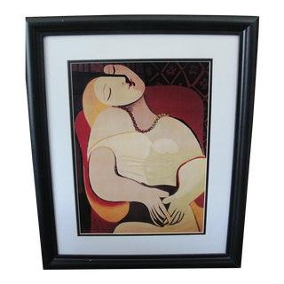 Portrait of a Woman by Pablo Picasso Print