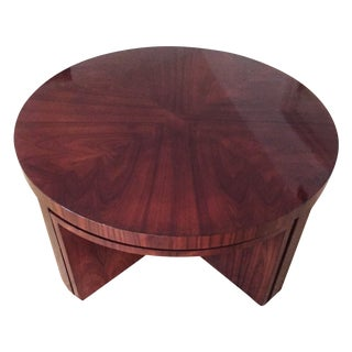 Ralph Lauren Coffee Table & Four Nesting Tables