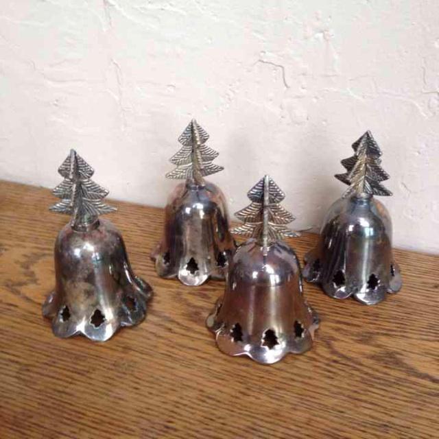 Vintage Silverplated Bells - Set of 4 - Image 2 of 5
