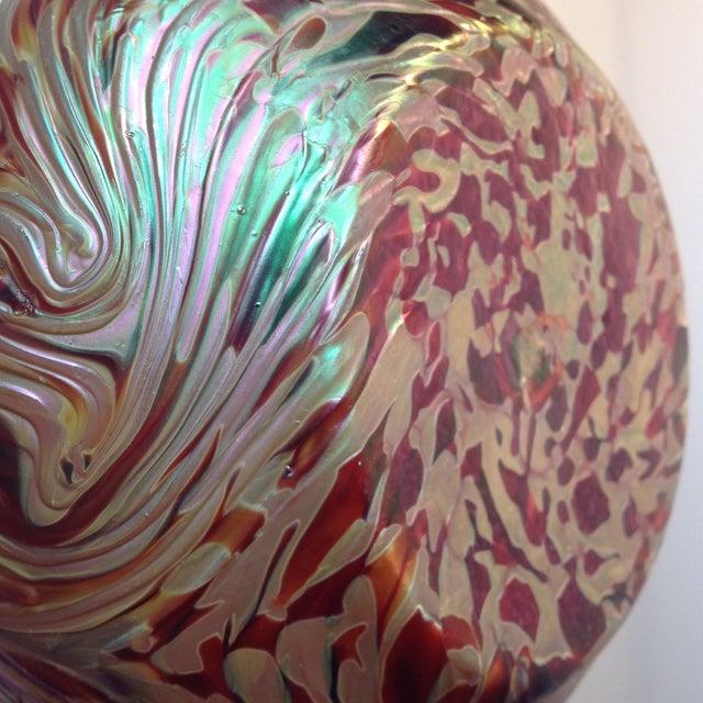 Austrian Loetz Iridescent Art Glass Vase - Image 7 of 9