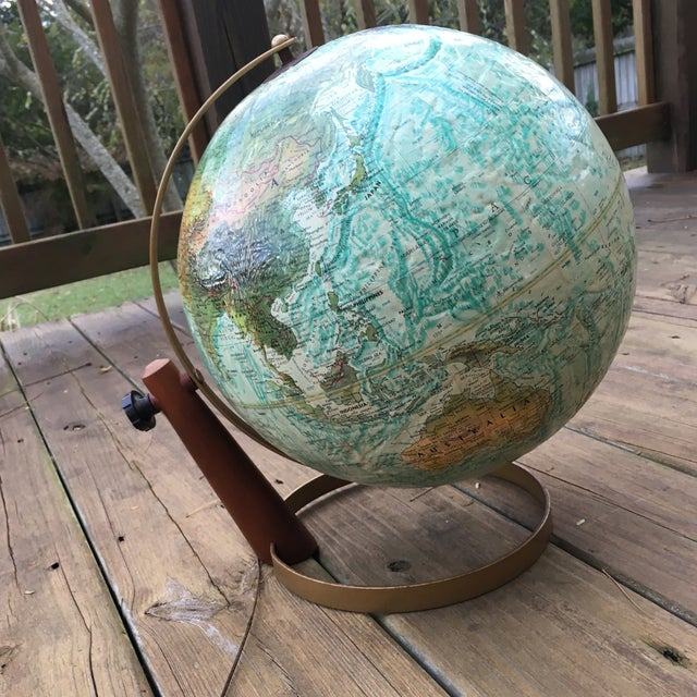 Vintage Replogle Globe on Stand - Image 5 of 5