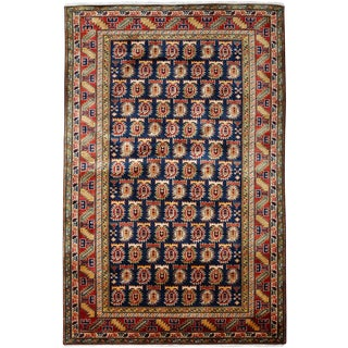 """New Traditional Hand Knotted Area Rug - 3'10"""" x 6'"""