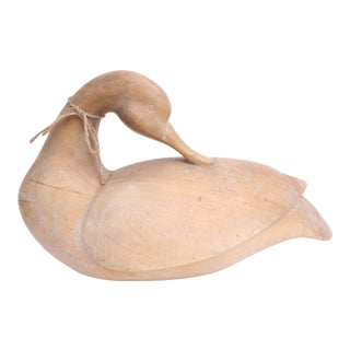 Vintage Wood Duck Decoy