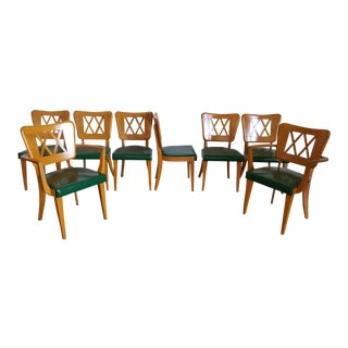 Vintage Mid-Century Dining Chairs - Set of 8