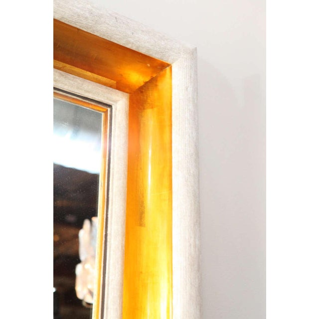 Image of Paul Marra Design Cove Mirror in Driftwood and Gold