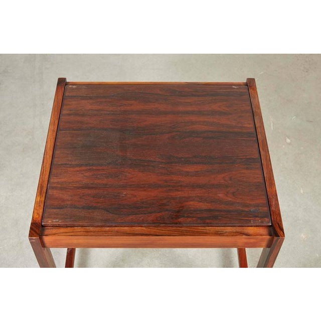 Danish Reversible End Table / Ottoman - Image 5 of 8