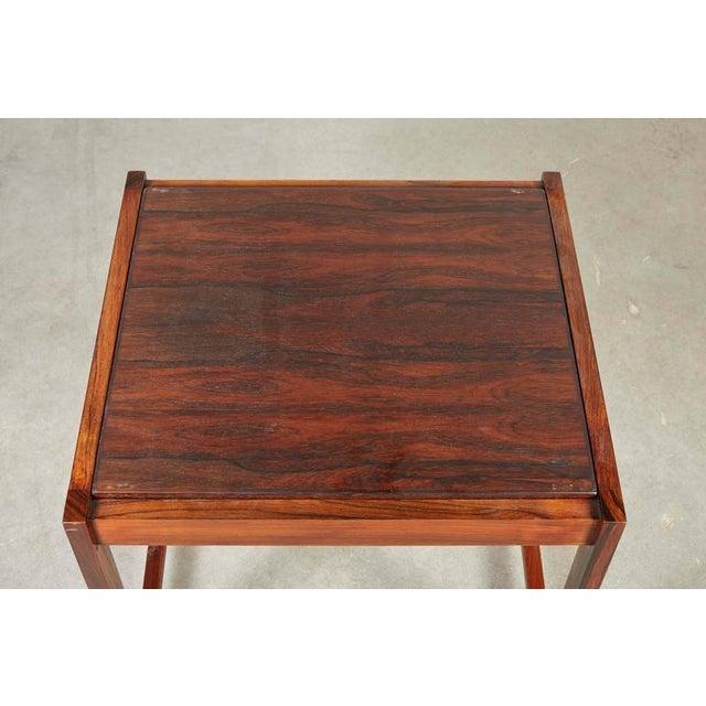 Image of Danish Reversible End Table / Ottoman