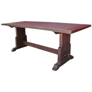 Spanish Antique Trestle Dining Table