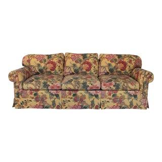 Henredon Floral Sofa