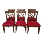 Image of Drexel Heritage X Side Chairs - Set of 6