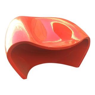 Red Acrylic Arkitekura Chair