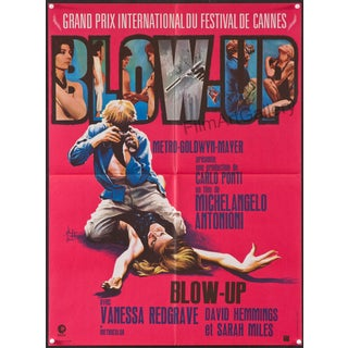 """Blow Up"" French Film Poster"