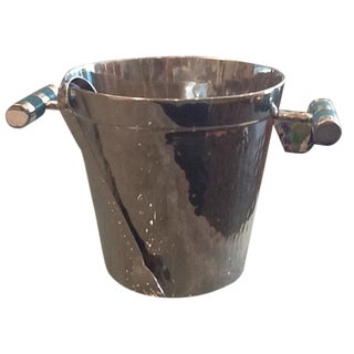 Vivo Hammered Ice Bucket with Stingray Handles