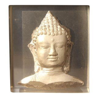 Modern Geometric Buddha Tao Statue