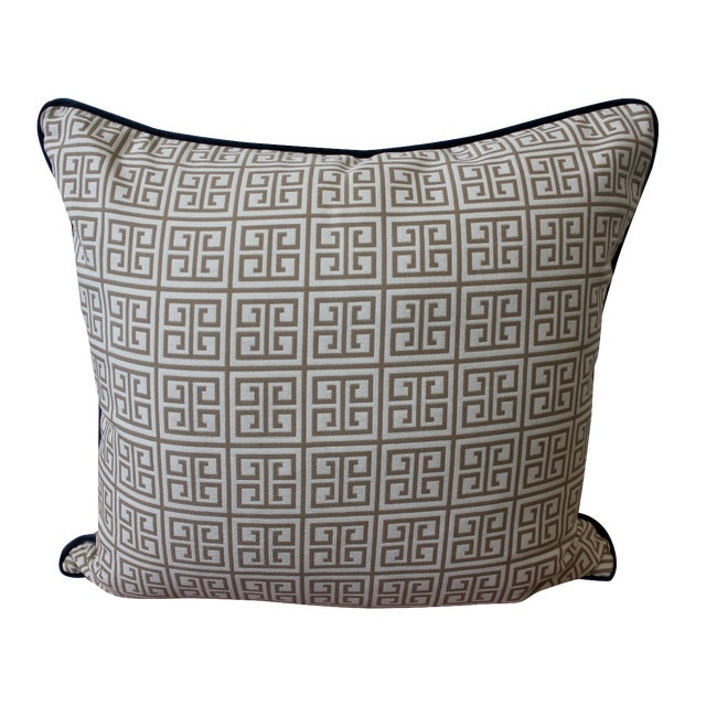 Outdoor Gray Mezzanine Pillow - Image 1 of 3
