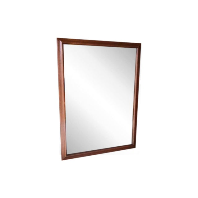 Image of Mid-Century Walnut Mirror